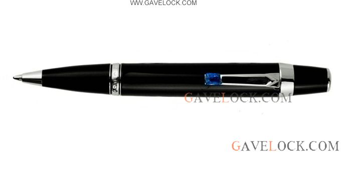 AAA Copy MontBlanc Boheme Ballpoint Pen Black and Silver